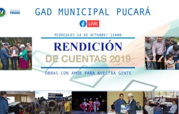 Rendición de Cuentas 2019 -2020
